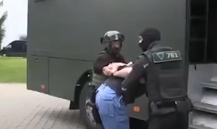 """Белорусская оппозиция называет ситуацию с ЧВК """"Вагнер"""" спектактлем / скриншот видео"""