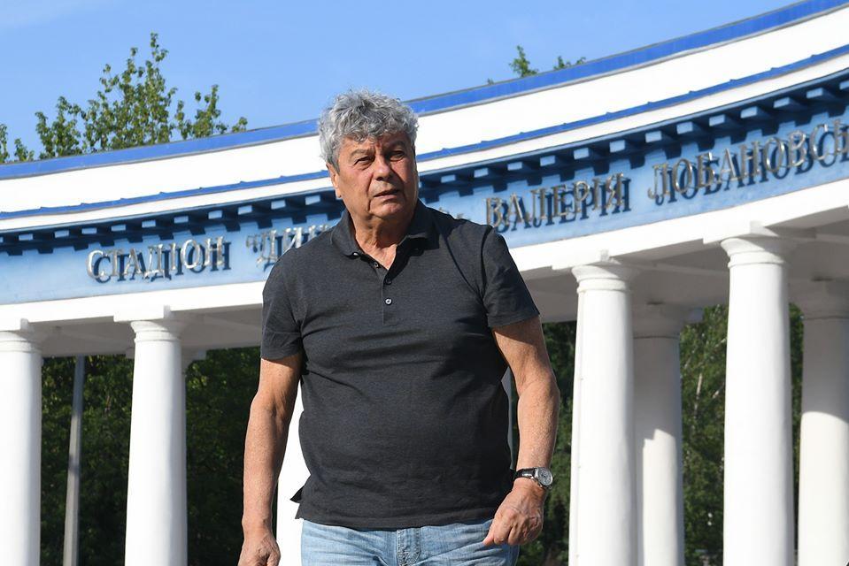 Мирча Луческу возглавил Динамо 23 июля / фото Динамо Киев