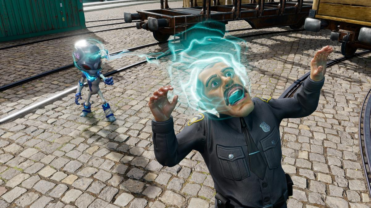 Ментальное воздействие на землян - самое безобидное, что есть в игре / фото thqnordic.com