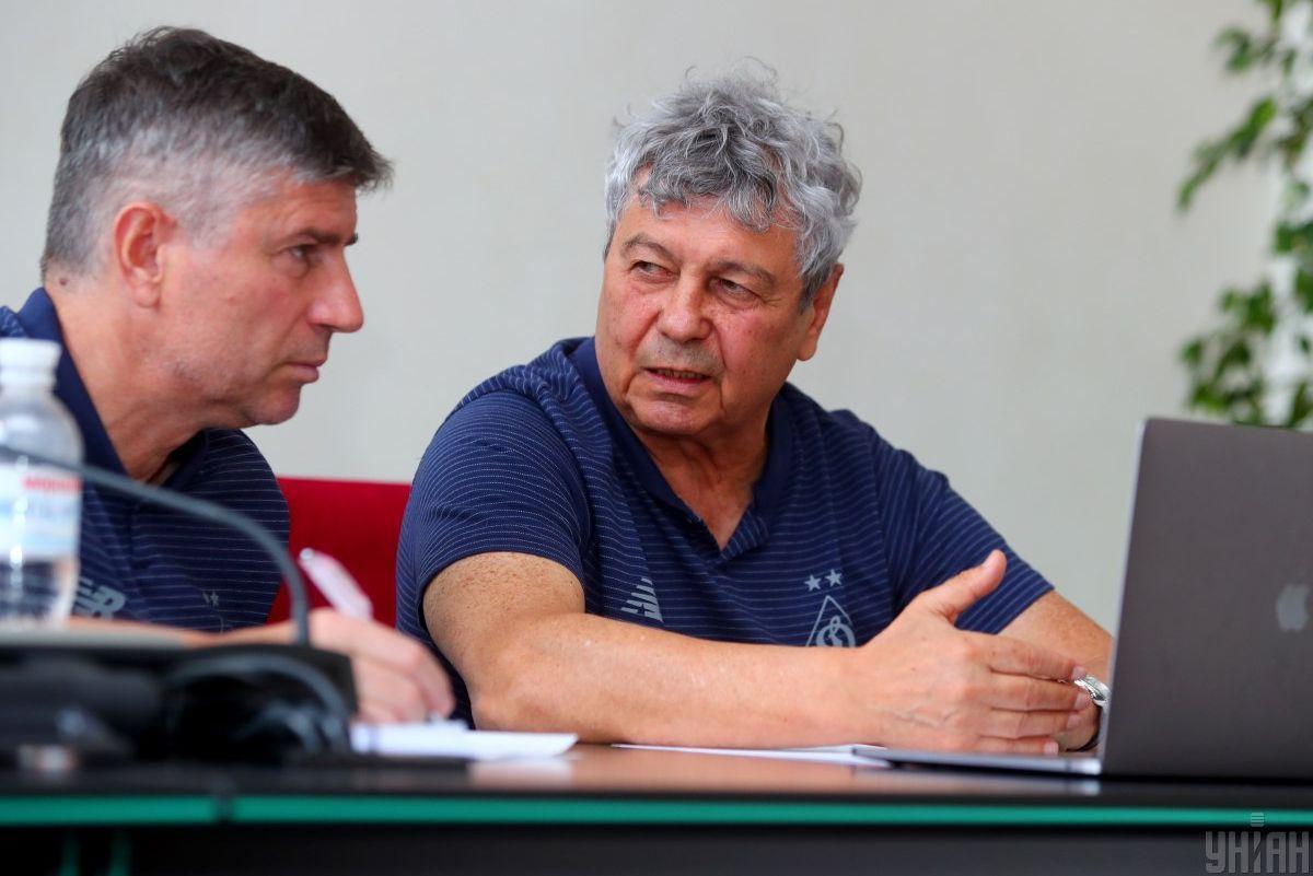 Мирча Луческу и Эмил Карас (слева)/ фото УНИАН
