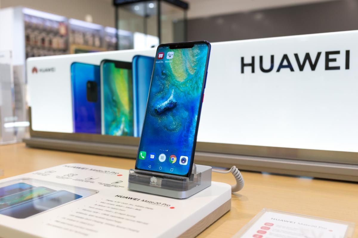 Huawei впервые стал мировым лидером по продажам смартфонов / фото ua.depositphotos.com
