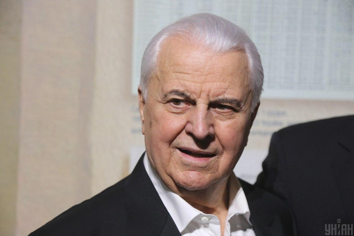 Кравчук принял участие в работе ТКГ / фото УНИАН