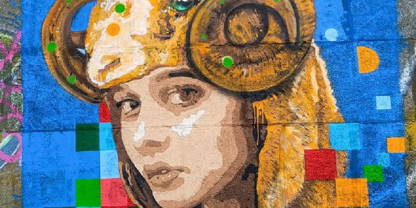 Кто стал музой для портрета амазонки, художник не признается / Фото vechirniy.kyiv.ua