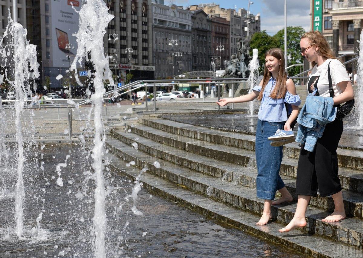 3 серпня в Києві буде комфортна температура / фото УНІАН