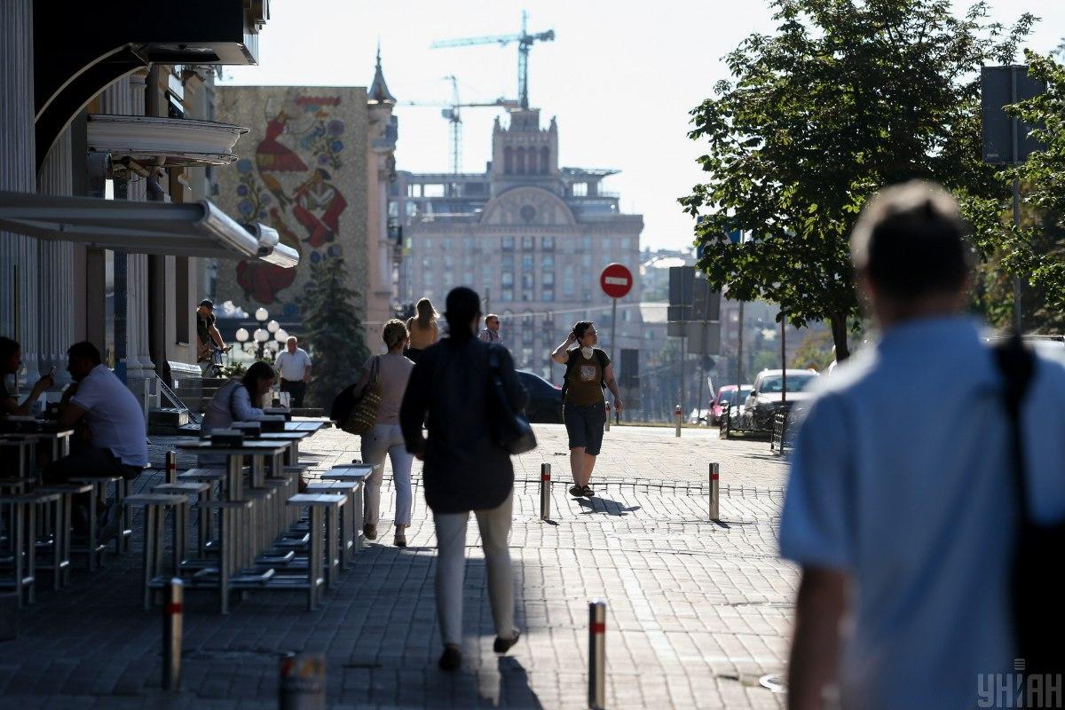 У Києві завтра буде спекотно / фото УНІАН