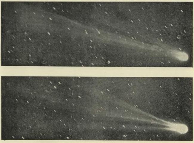Комета Свифта-Таттла, из-за которой происходит метеорный поток Персеиды/ фото Википедия