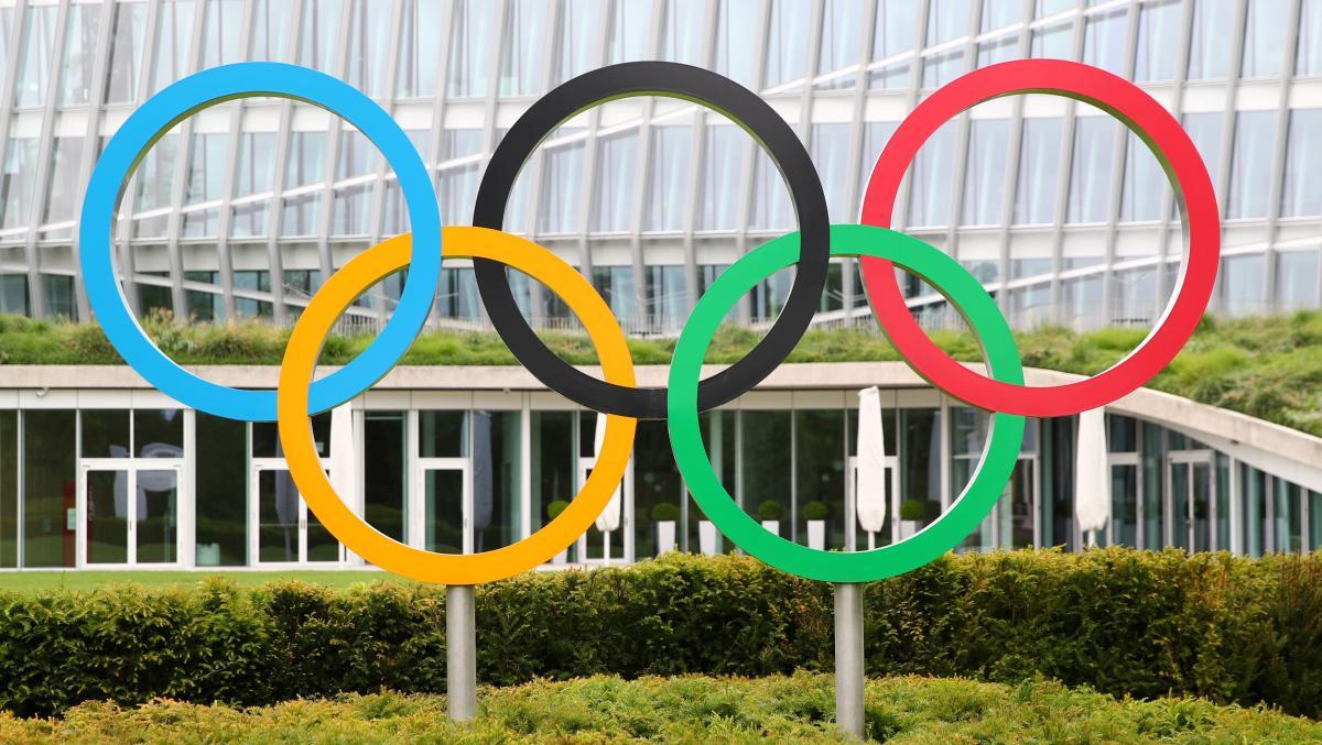 Олімпійські кільця / фото REUTERS