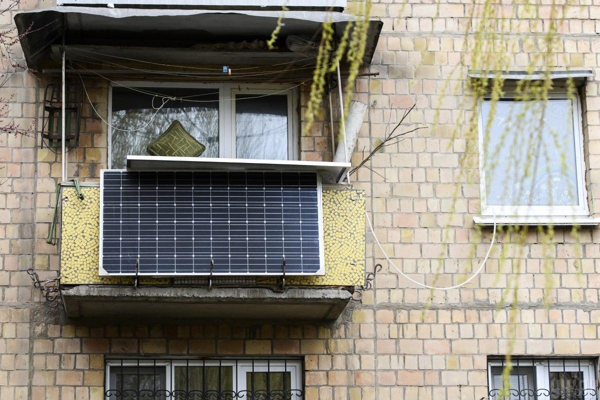 На первый взгляд, установка домашней электростанции выглядит беспроигрышным вариантом / фото УНИАН