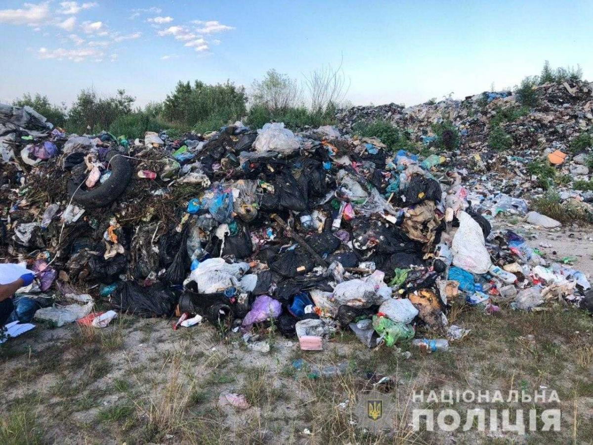 Документов на перевозку груза у водителя не было / фото ГУ НП в Ривненскойобласти