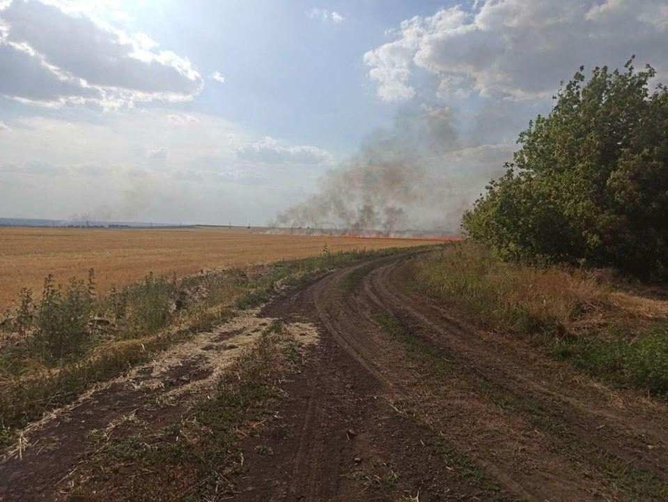 Гвардійцізапобіглиможливій пожежі / фото Нацгвардія України