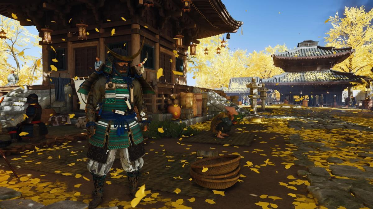 Один из доспехов в Ghost of Tsushima / скриншот