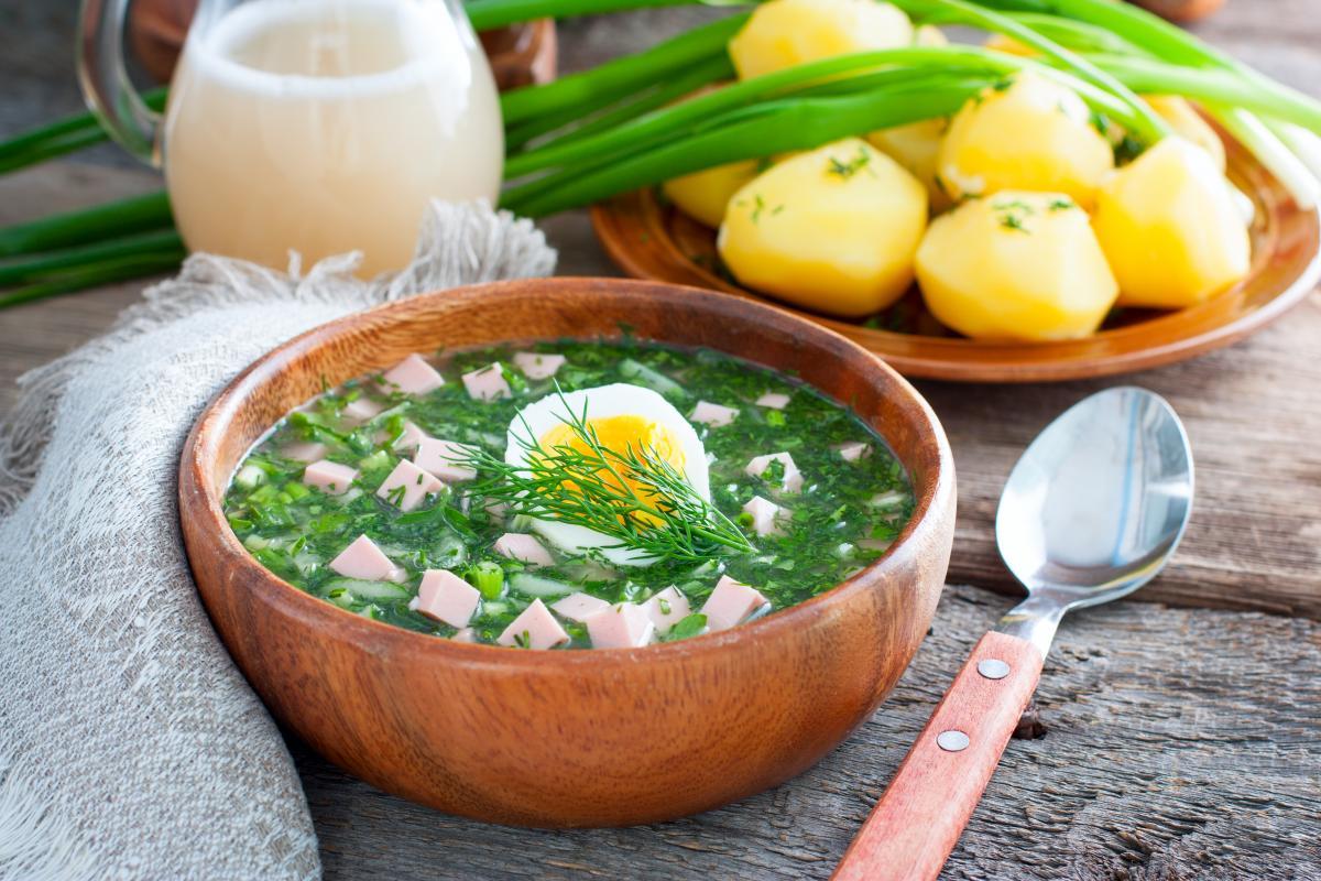 Рецепт окрошки / фото ua.depositphotos.com