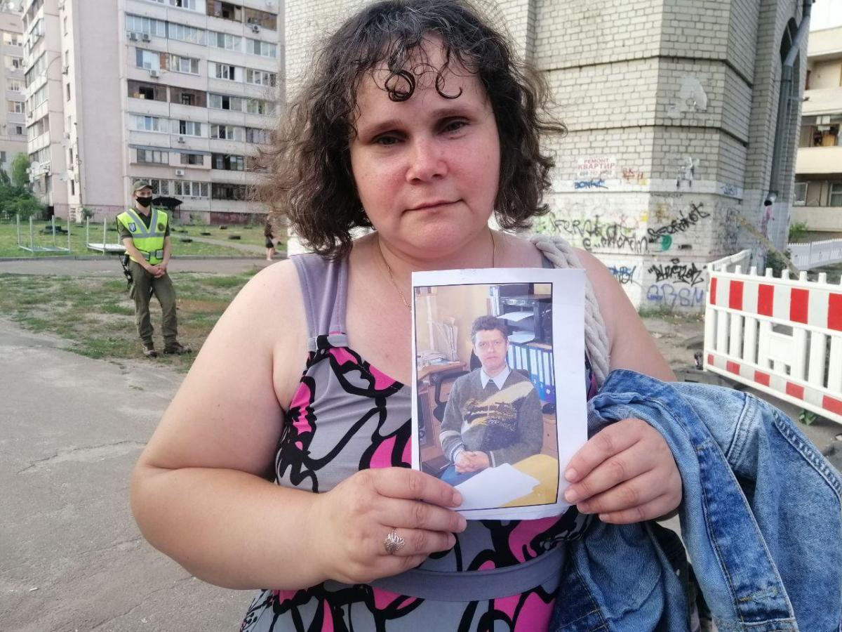 Мужа Татьяны, Александра,нашли на вторые сутки, самым последним / фото УНИАН