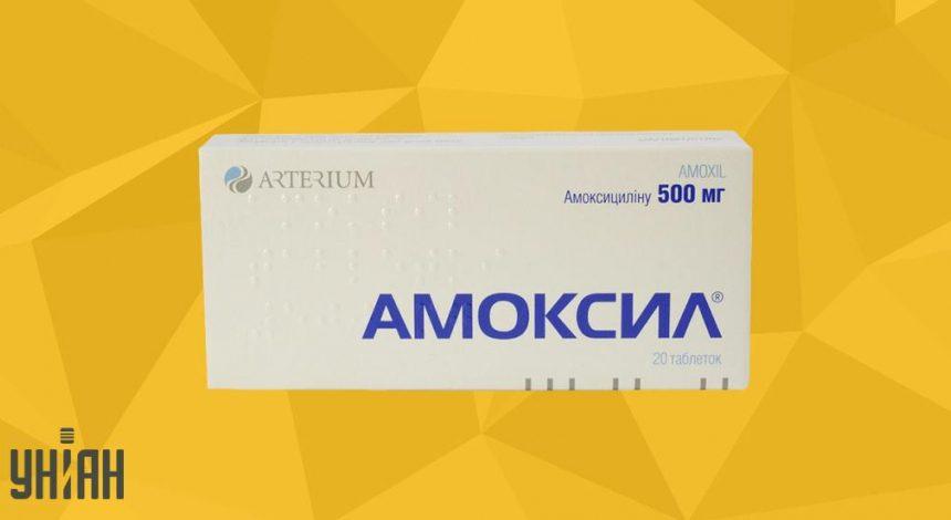 Амоксил 500 фото упаковки