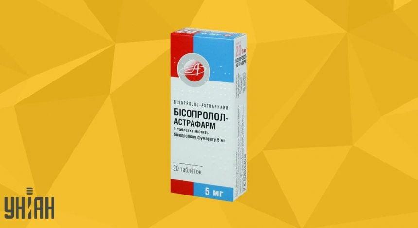 Бисопролол Астрафарм таблетки фото упаковки