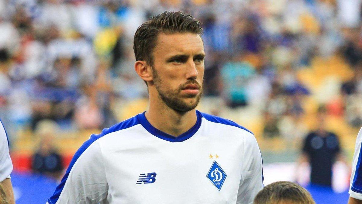 Пиварич играл за киевский клуб с 2017 года / фото ФК Динамо Киев