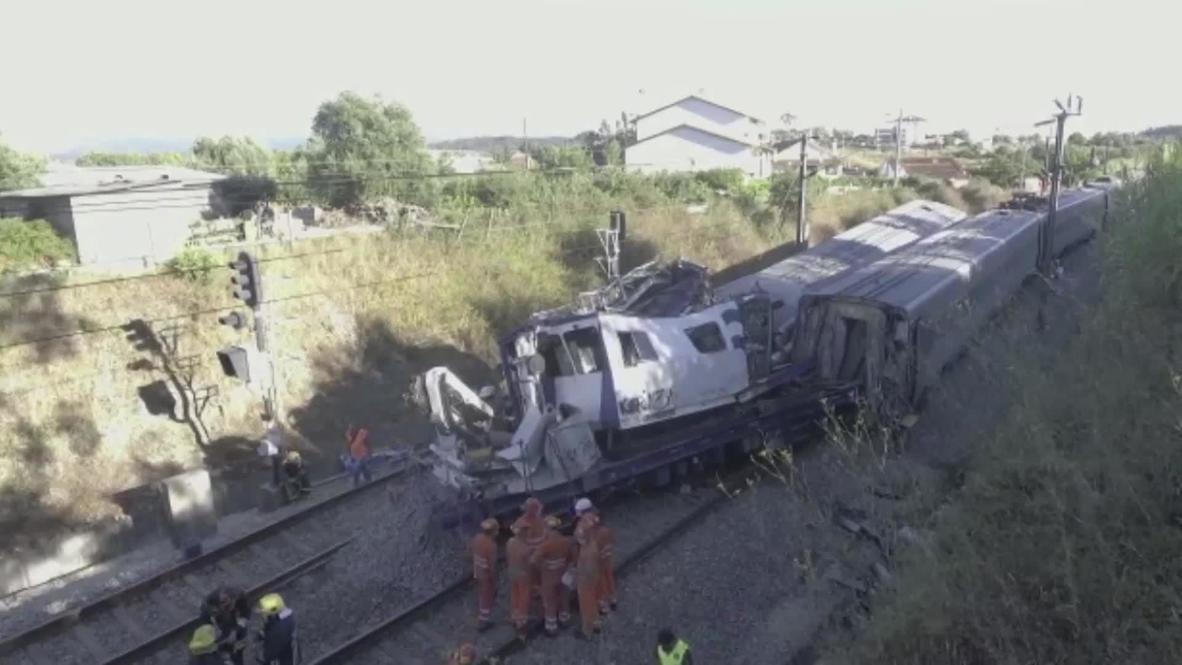 На месте происшествия работают аварийные службы / Скриншот