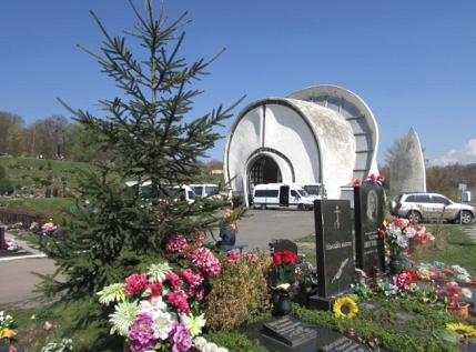 Київський крематорій на Байковому цвинтарі столиці