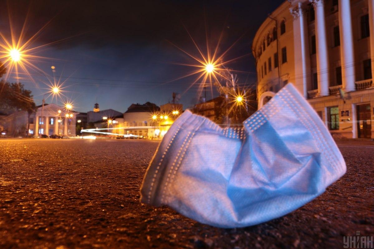 Ежедневное ношение масок может привестик проблемам со здоровьем / фото УНИАН