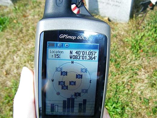 GPS-навігація «на службі» у зелених кладовищ