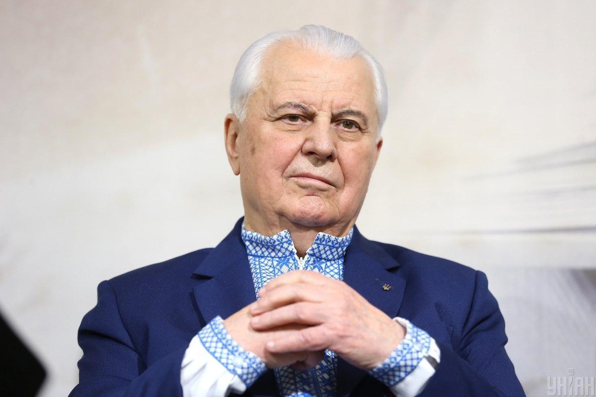 Леонід Кравчук ініціюватиме створення фонду для відновлення Донбасу / фото УНІАН