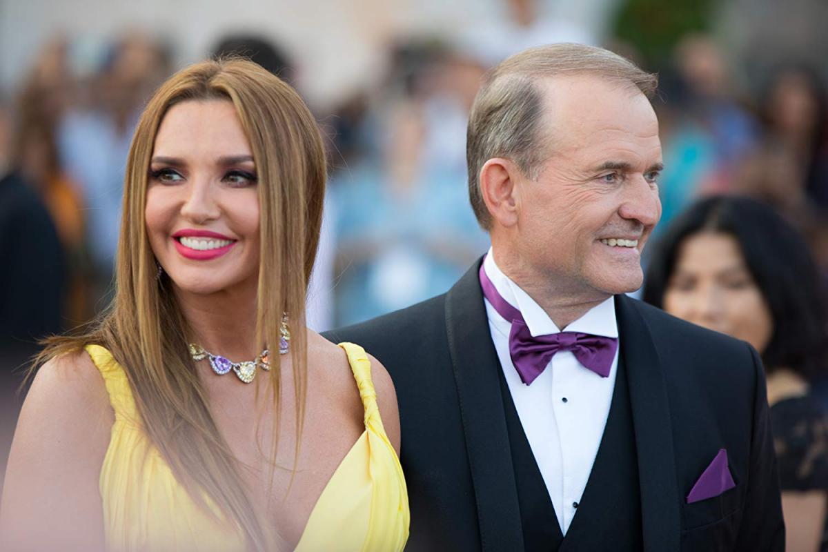 Медведчук с Марченков Крыму / фото krymr.com