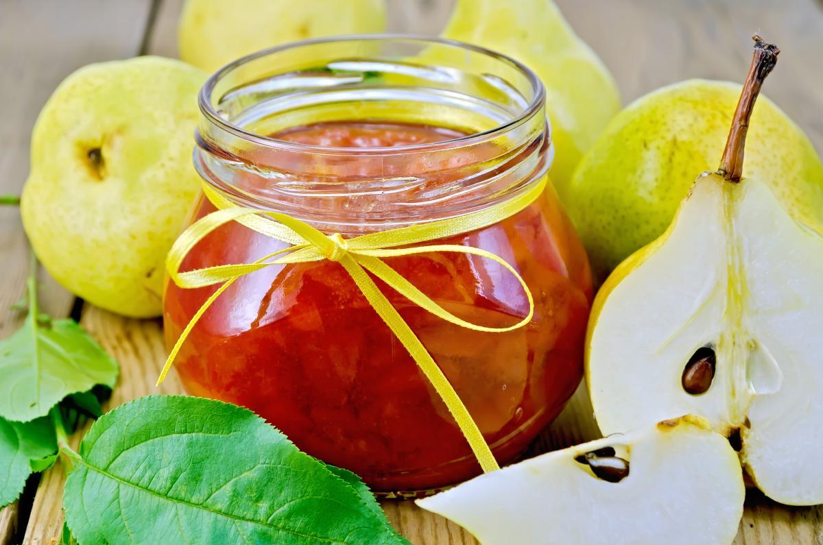 Вареньеиз груш - рецепт / фото ua.depositphotos.com