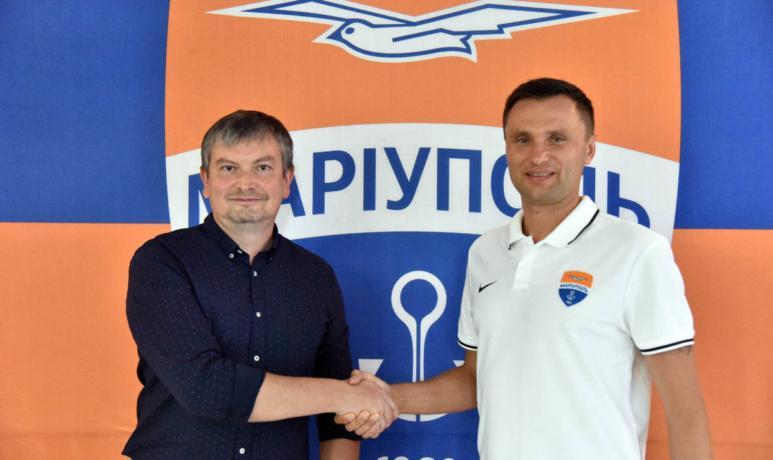 Остап Маркевич - новый главный тренер Мариуполя / фото ФК Мариуполь