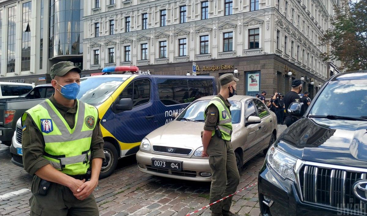 Мужчина угрожает взорвать бомбу в бизнес-центре / фото УНИАН