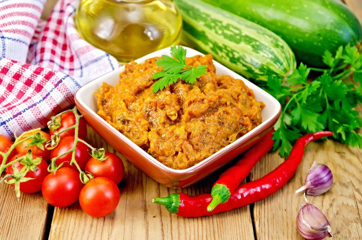 Рецепт домашней кабачковой икры / фото ua.depositphotos.com