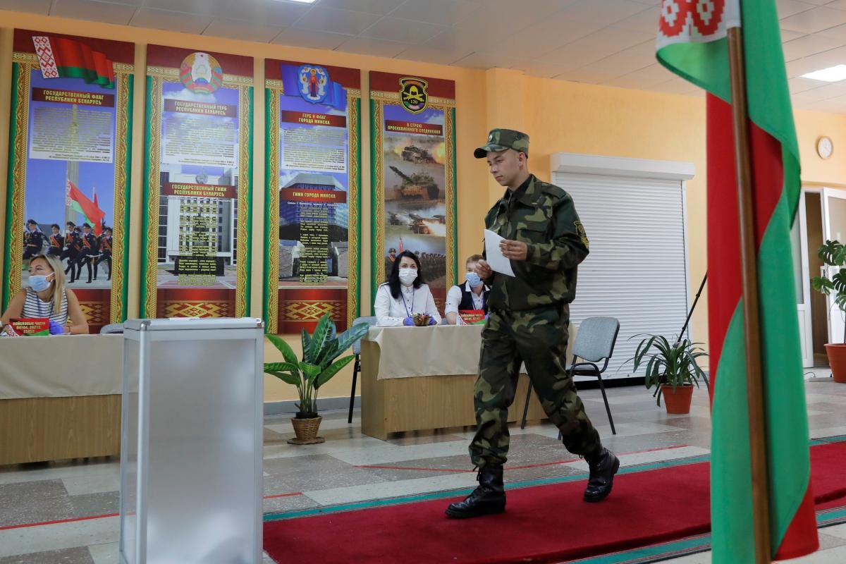 У Білорусі підвели перші підсумки дострокового голосування на виборах президента / Ілюстрація REUTERS