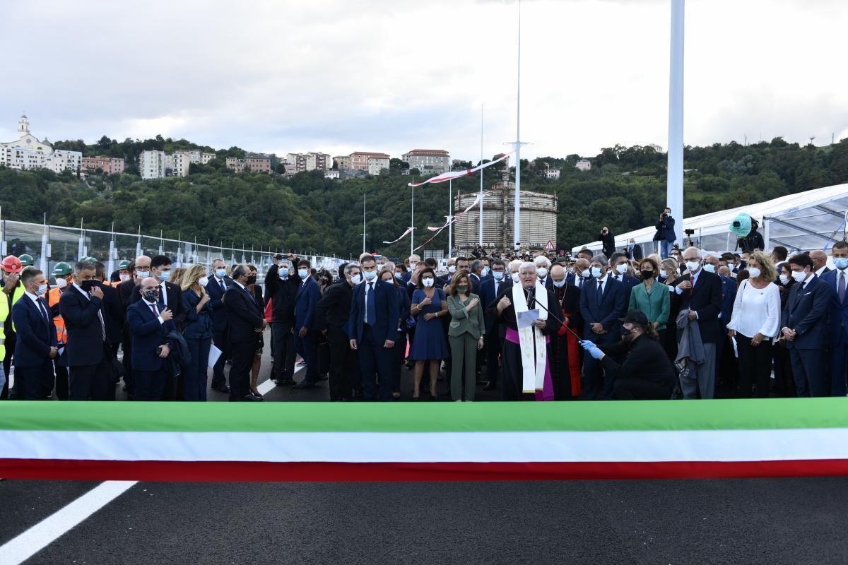 Відкриття нового мосту в Генуї 3 серпня / фото Filippo Vinardi