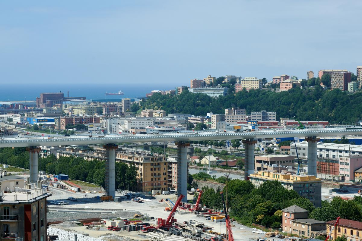 При зведенні моста використовувалася українська сталь / фотоFilippo Vinardi