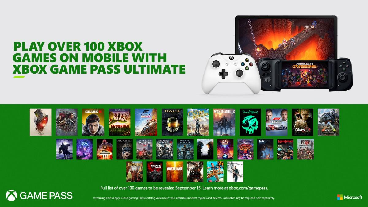 В библиотеке Game Pass на смартфонах будет более ста игр / news.xbox.com