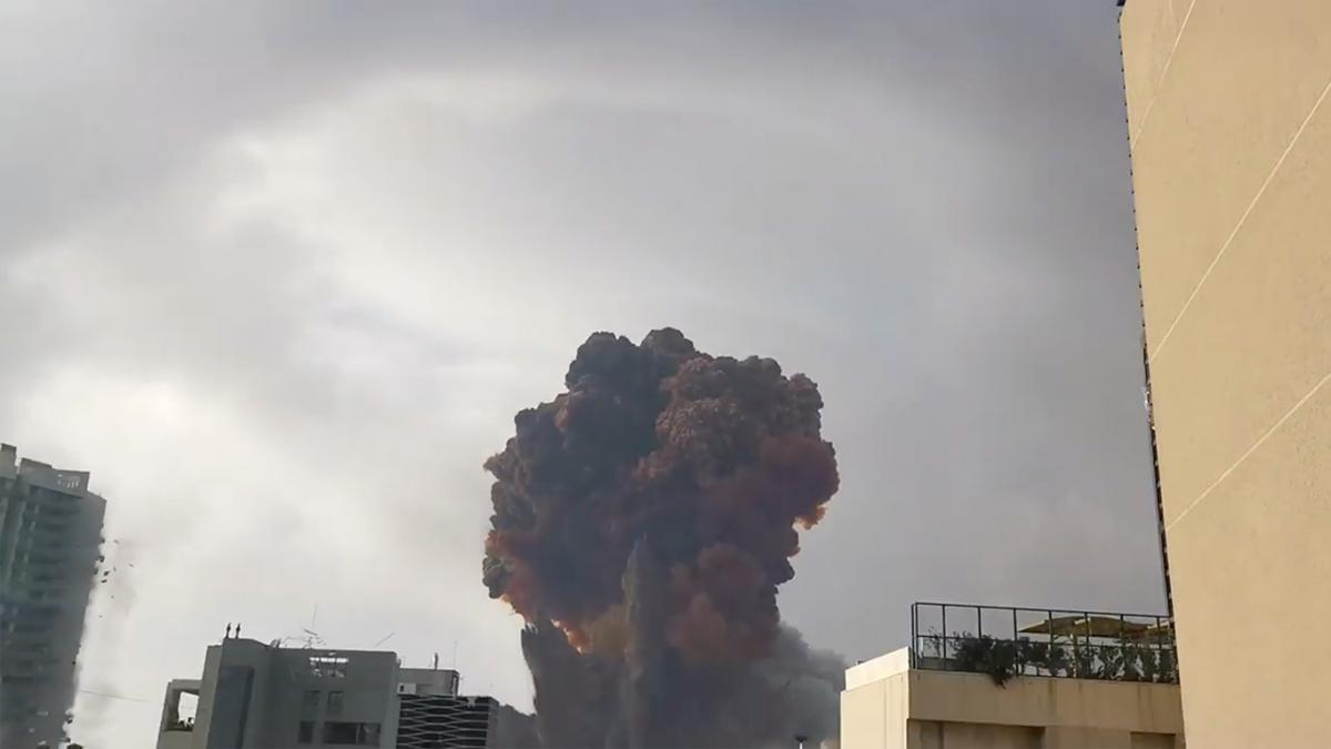 Взрывв Бейруте прогремел4 августа / фото REUTERS