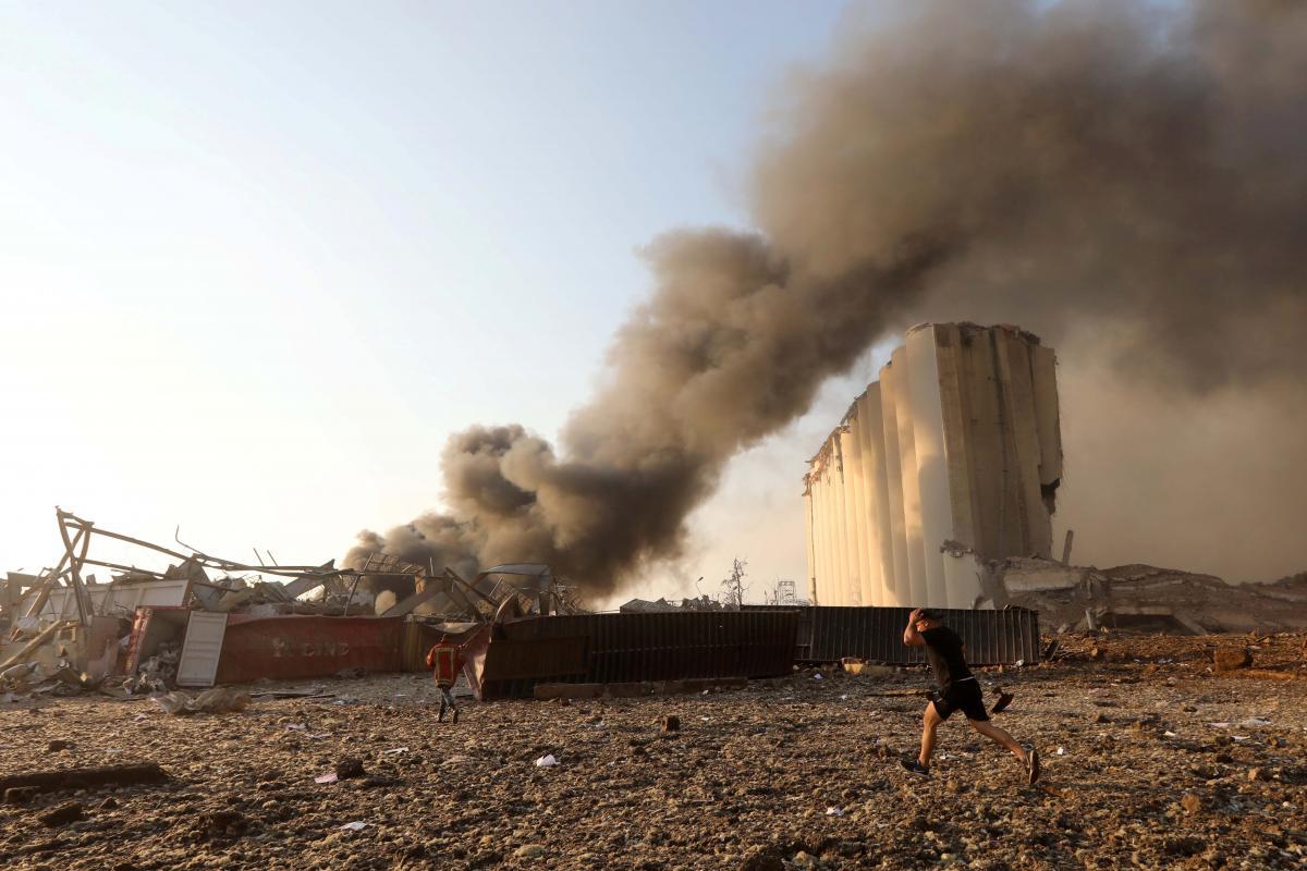 Взрыв в Бейруте произошел 4 августа / фото REUTERS