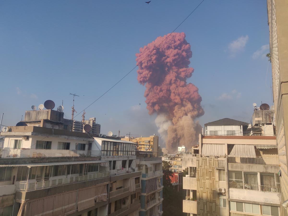 Вибух у Бейруті 4 серпня / REUTERS