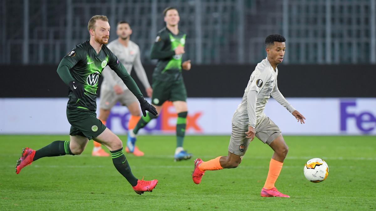 Шахтар іВольфсбург першийматч провели ще в марті/ фото ФК Шахтер