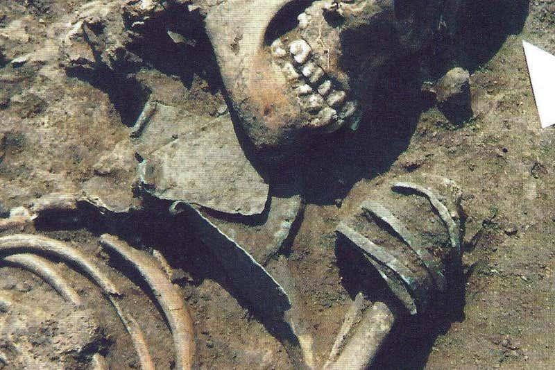 Вчені проаналізували 6600-річні поховання громади Ослонкі в Польщі \ Челсі Бадд з Університету Умео