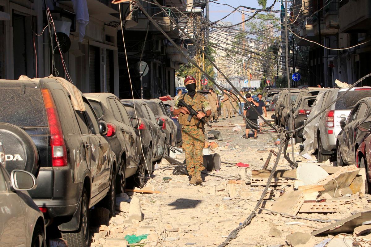 4 августа в порту Бейрута произошел мощный взрыв/ фото REUTERS