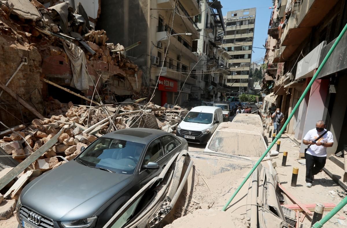 Руины в Бейруте / REUTERS