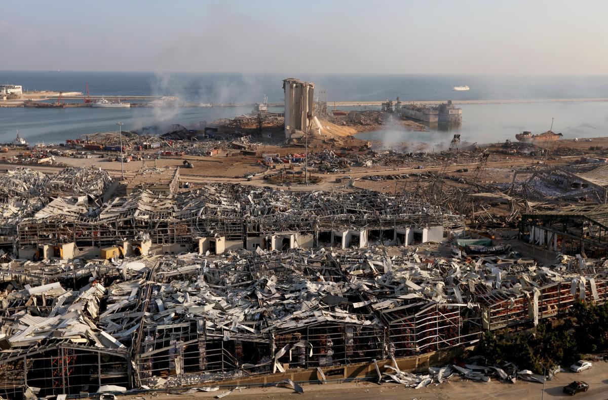 4 серпня в порту Бейрута стався потужний вибух/ фото REUTERS