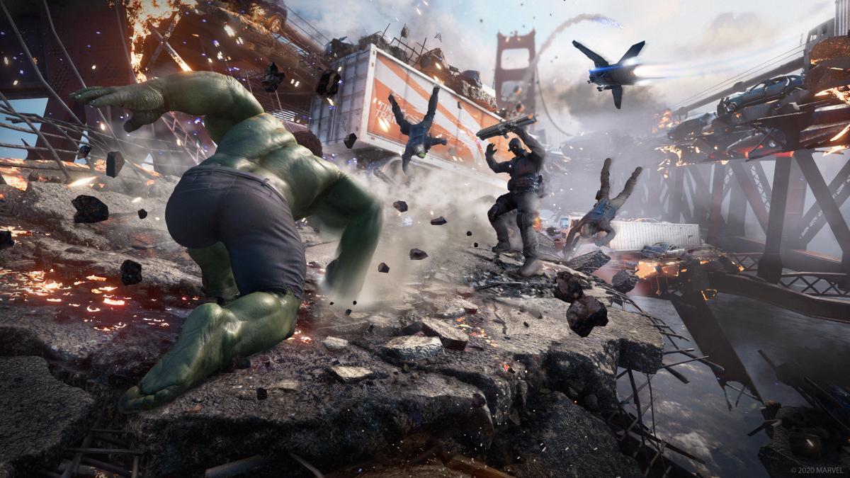 В начальной битве дают поочереди поиграть за всех персонажей / фото Square Enix