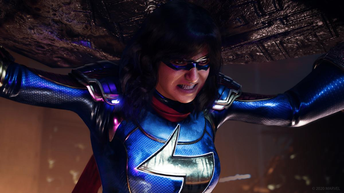 Камала Хан в образеМисс Марвел / фото Square Enix