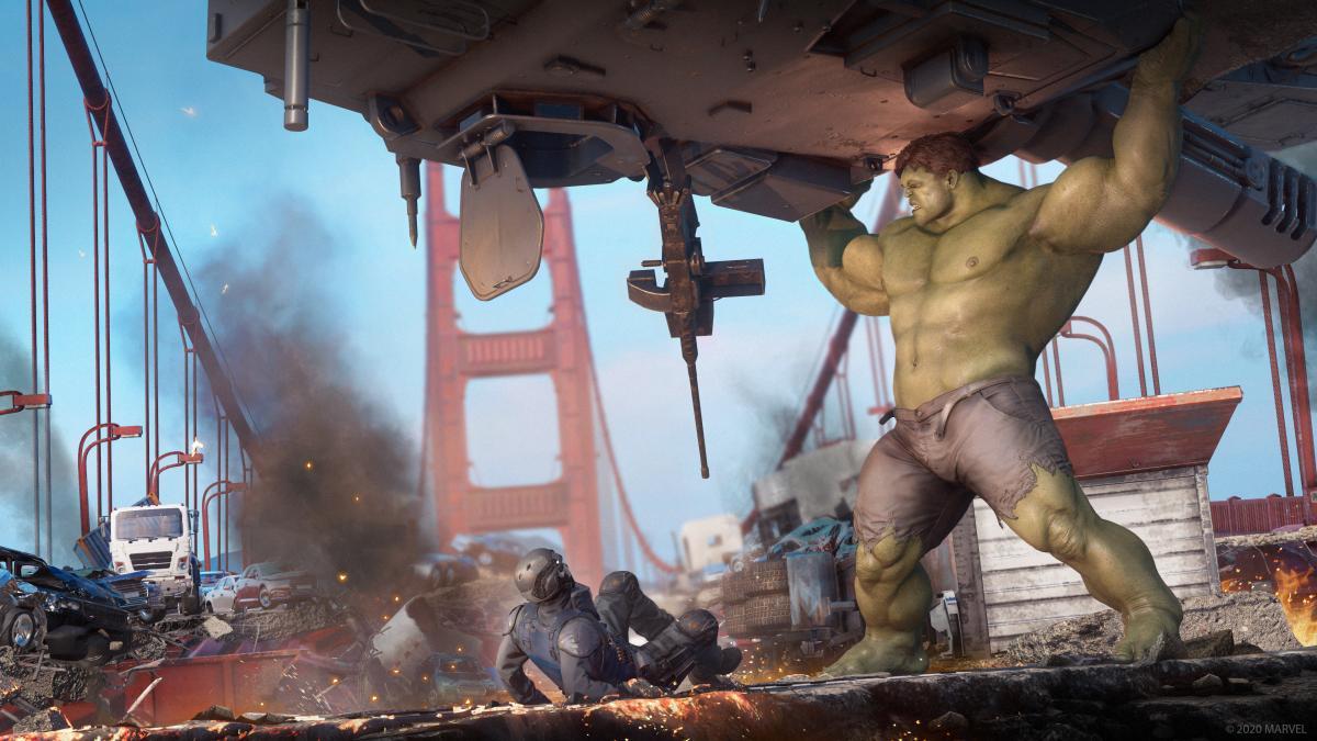 Marvel's Avengers выходит 4 сентября на консоли и ПК /фото Square Enix