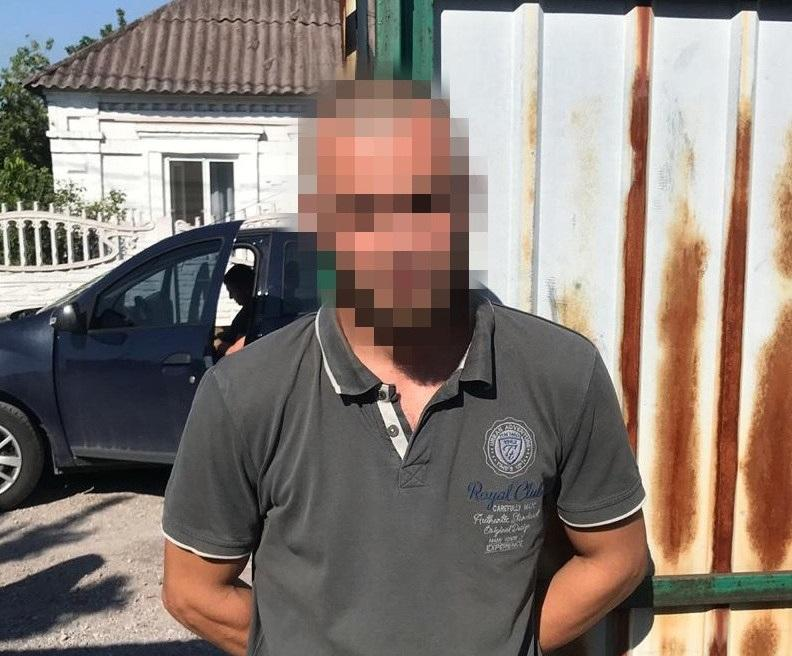 He joined the 'battalion' on a voluntary basis / Photo from facebook.com/SecurSerUkraine