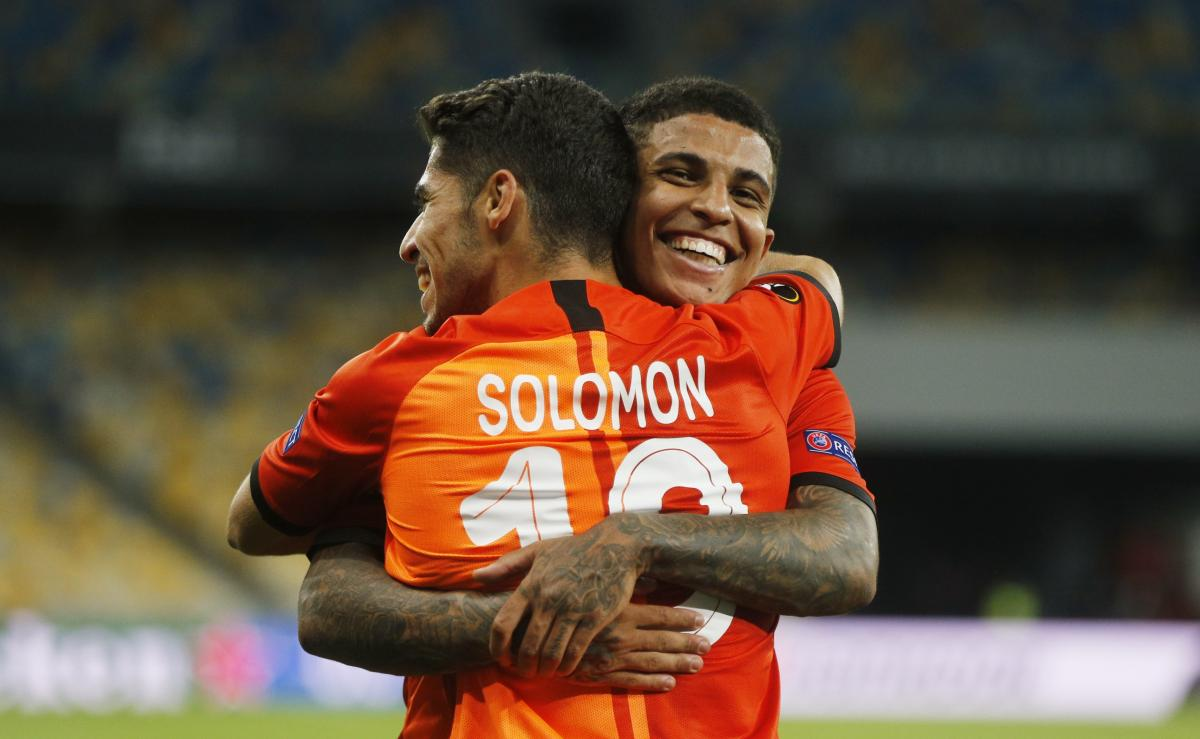 Solomon's goal contributed to the victory / REUTERS