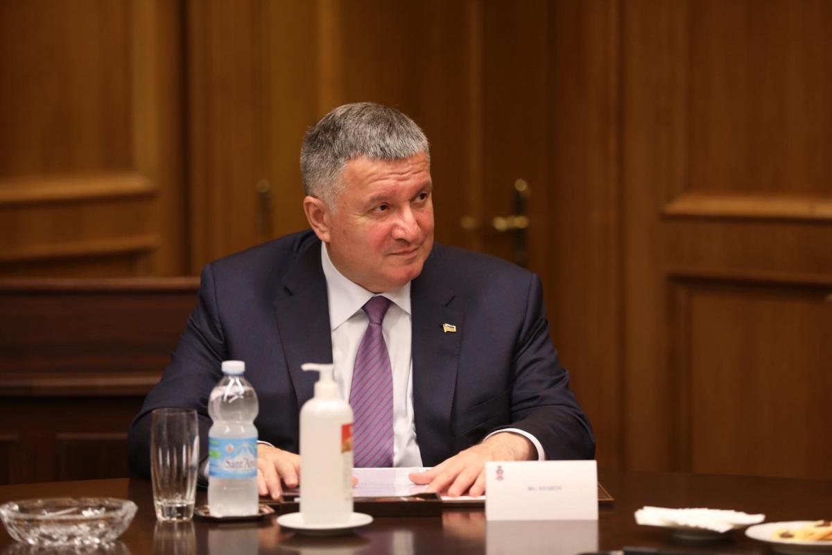 У 2015 роціміж Аваковим та Саакашвілі виникла сварка / фото mvs.gov.ua