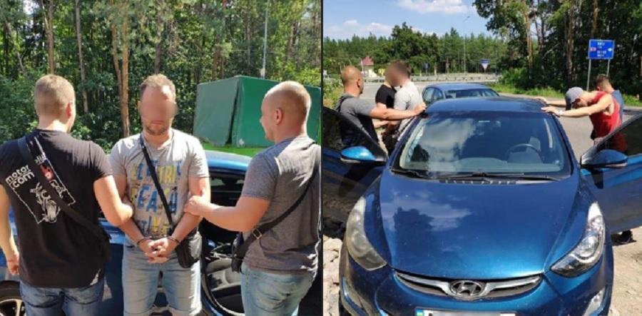 Стрілка, який одразу ж втік з місця події, затримали в рамках розпочатої спецоперації у Києві / facebook.com/pol.kyivregion