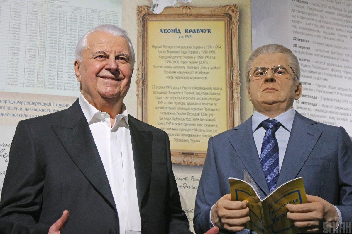 Leonid Kravchuk (left) / Photo from UNIAN